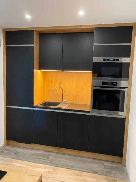 Projet EDI cuisine sur mesure réalisé de la conception à la pose à Allauch