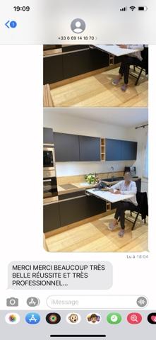 Projet de cuisine sur mesure par EDI CUISINE à Marseille Conception et Pose