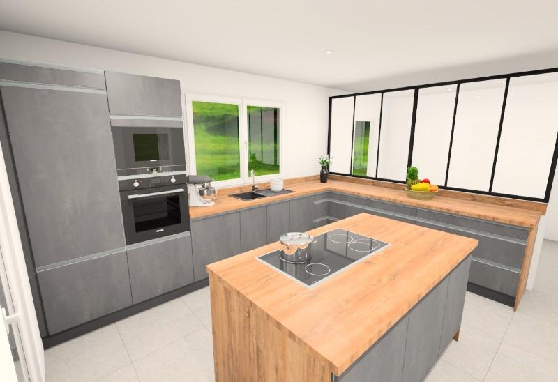 Nouveau projet de cuisine sur mesure à domicile Marseille 13012 EDI CUISINES